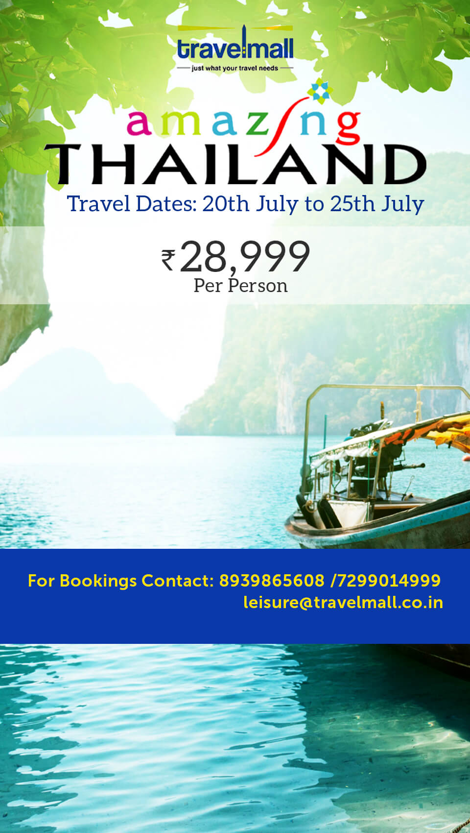 Amazing Thailand - cms - buzztm - TravelMall - just what your travel needs