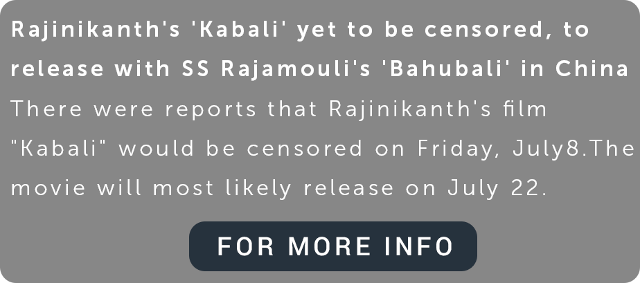 kabali - cms - buzztm - Kabali the movie